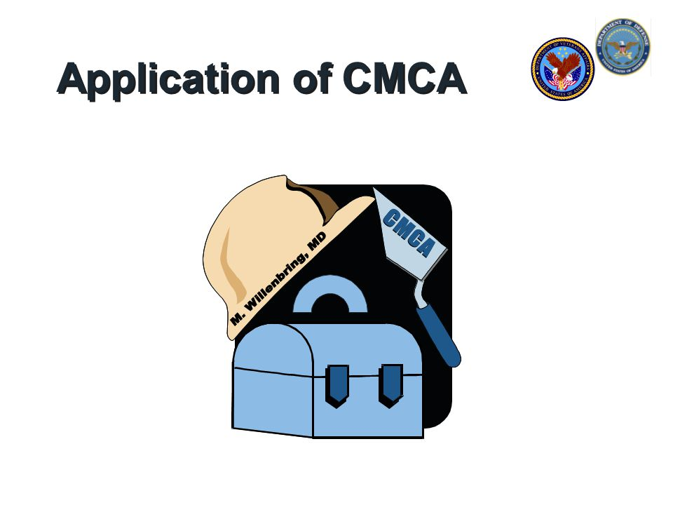 Application of CMCA