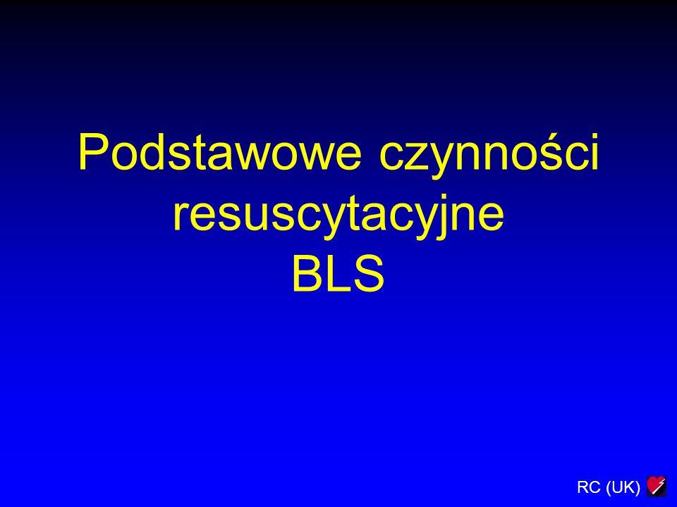 RC (UK) Podstawowe czynności resuscytacyjne BLS