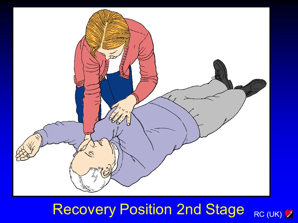RC (UK) Recovery Position 2nd Stage
