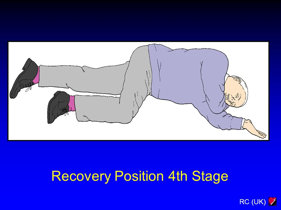 RC (UK) Recovery Position 4th Stage