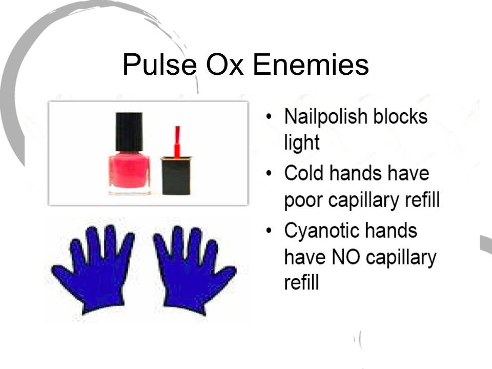 Pulse Ox Enemies