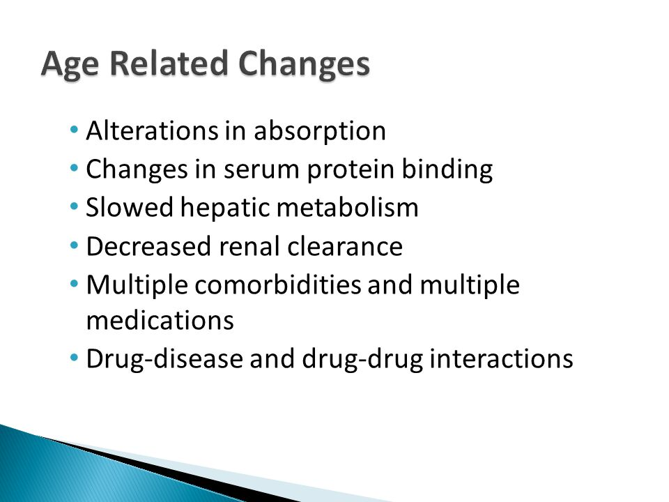 New behaviors may be triggered by delirium Concomitant medical illness – UTI, pneumonia, constipation Pain Medication toxicity – Anticholinergic side effects -> confusion, urinary retention or constipation Best treatment may be to treat underlying condition or discontinue offending medication