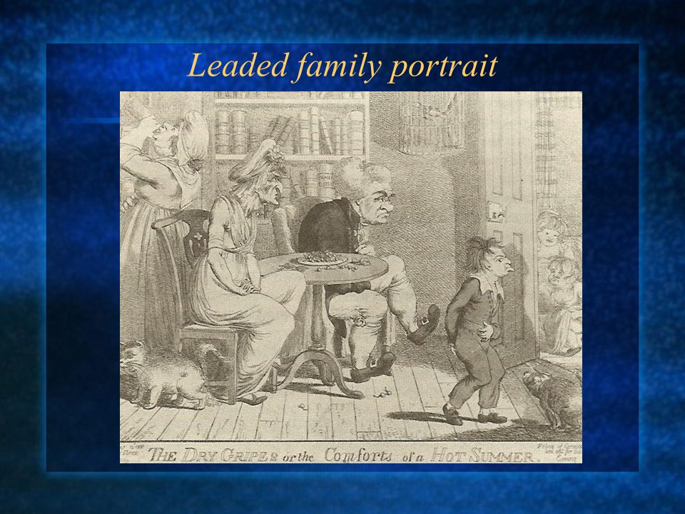 Leaded family portrait