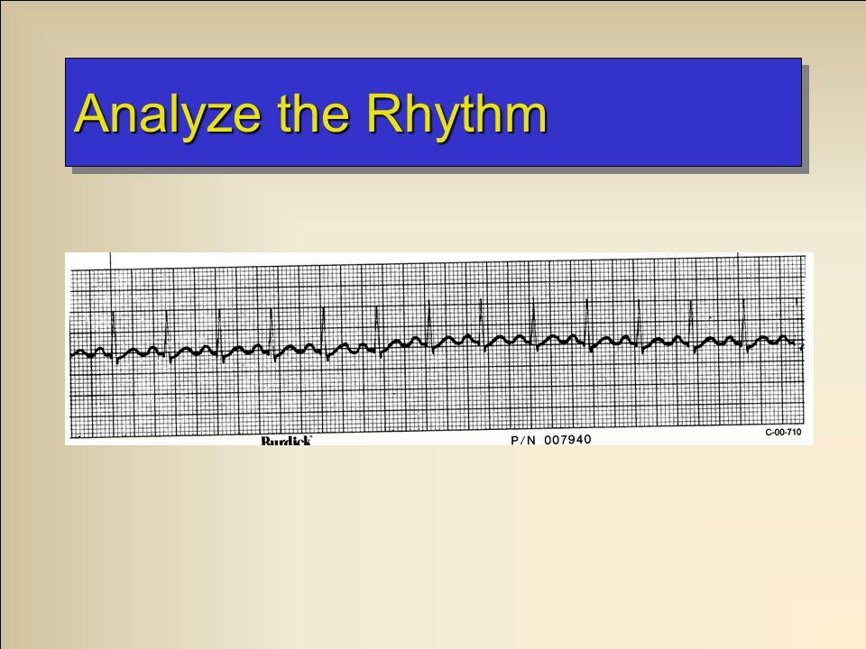 Analyze the Rhythm