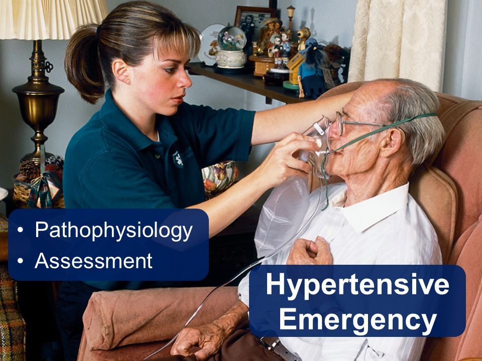 Hypertensive Emergency Pathophysiology Assessment
