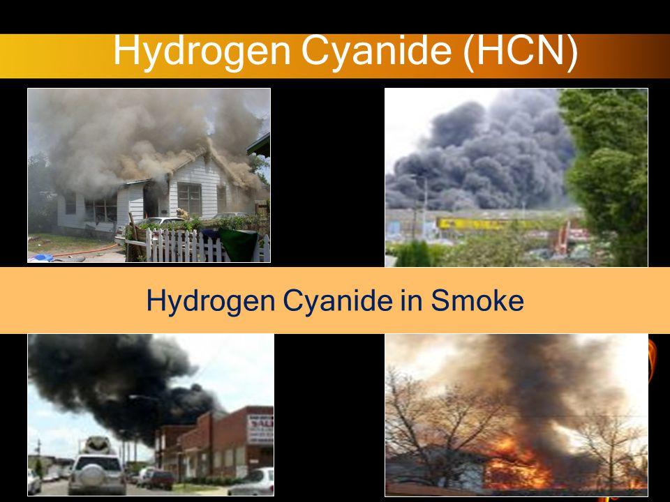 Hydrogen Cyanide (HCN) Hydrogen Cyanide in Smoke