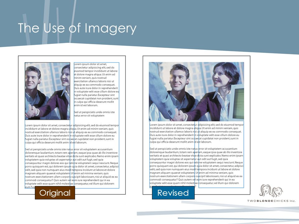 The Use of Imagery OriginalRevised