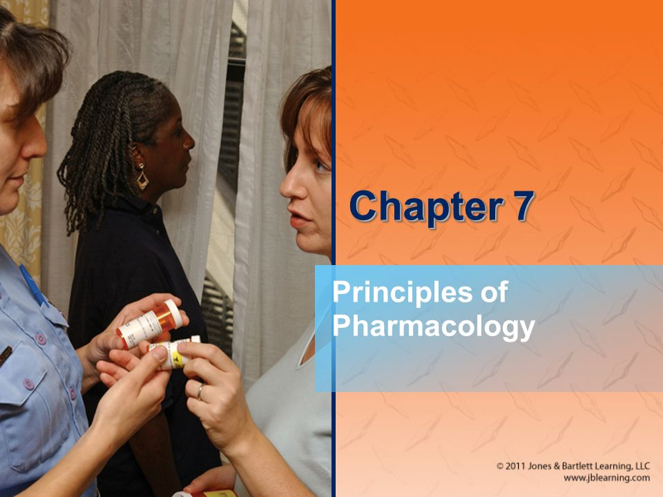 Chapter 7 Principles of Pharmacology
