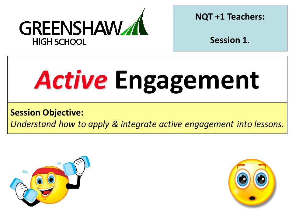 NQT +1 Teachers: Session 1.