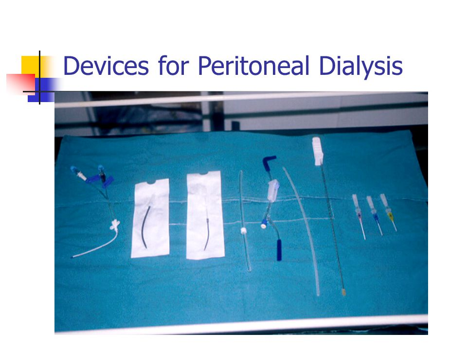 Devices for Peritoneal Dialysis