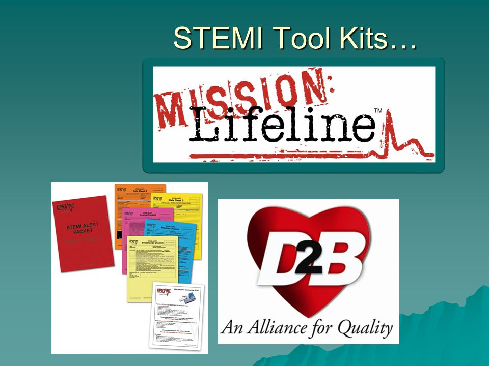 STEMI Tool Kits… -Tactical Concepts