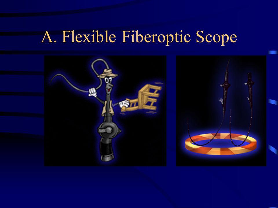 A. Flexible Fiberoptic Scope