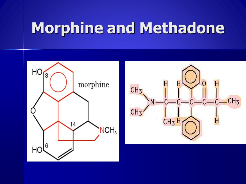 Morphine and Methadone