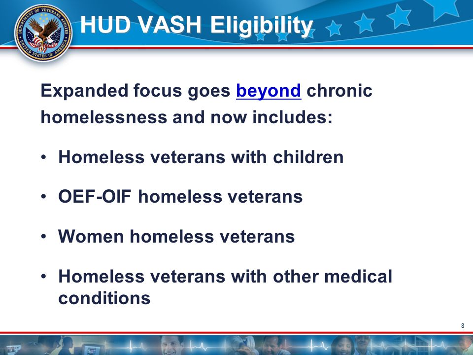 9 Principle Sources of Referral HCHV Outreach Program –Primary contact with homeless veterans –Helps to direct homeless veterans to appropriate services Other VA Homeless Programs –Residential Treatment Programs –Grant & Per Diem Other VA Programs –Mental Health programs –Social Work –Primary Care, etc.
