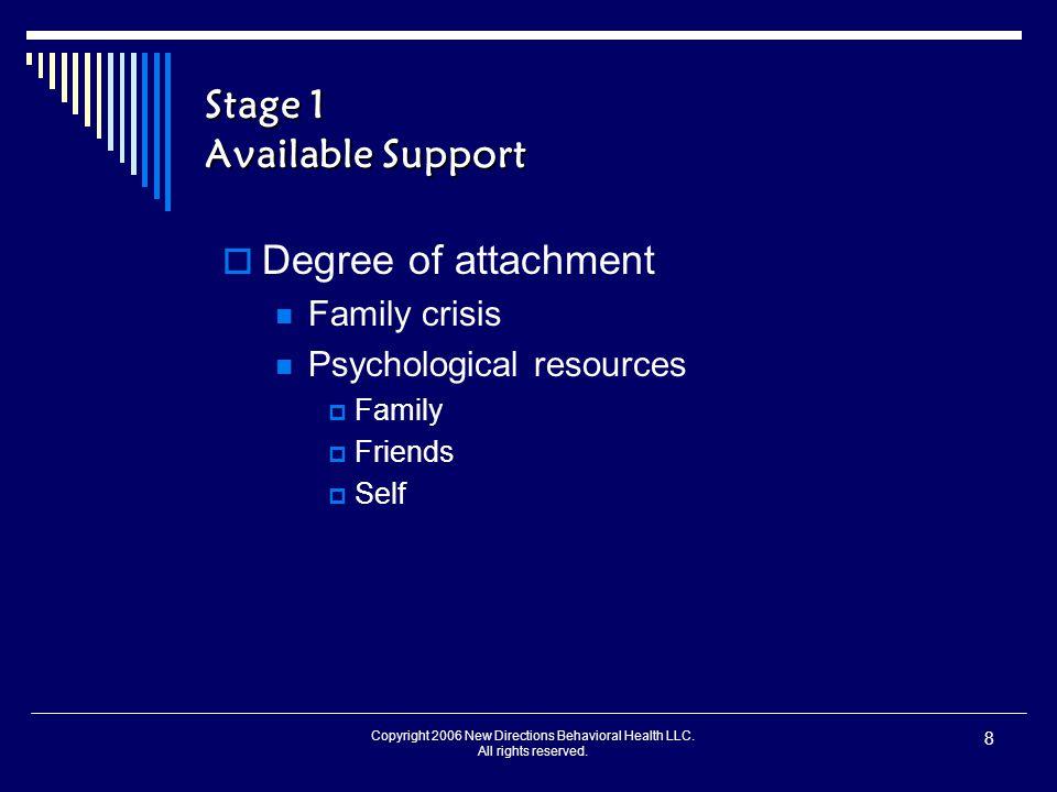 Copyright 2006 New Directions Behavioral Health LLC.