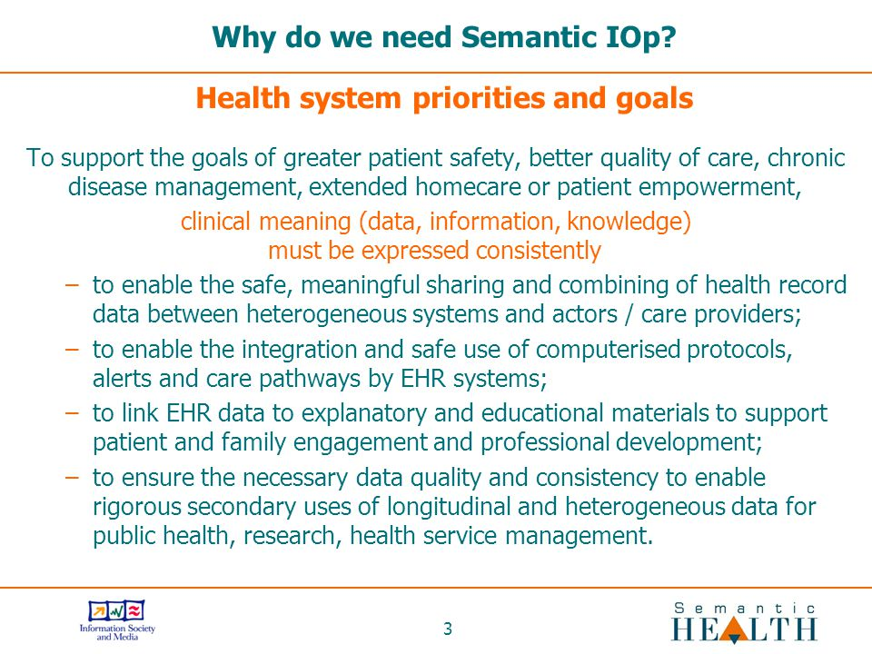 3 Why do we need Semantic IOp.