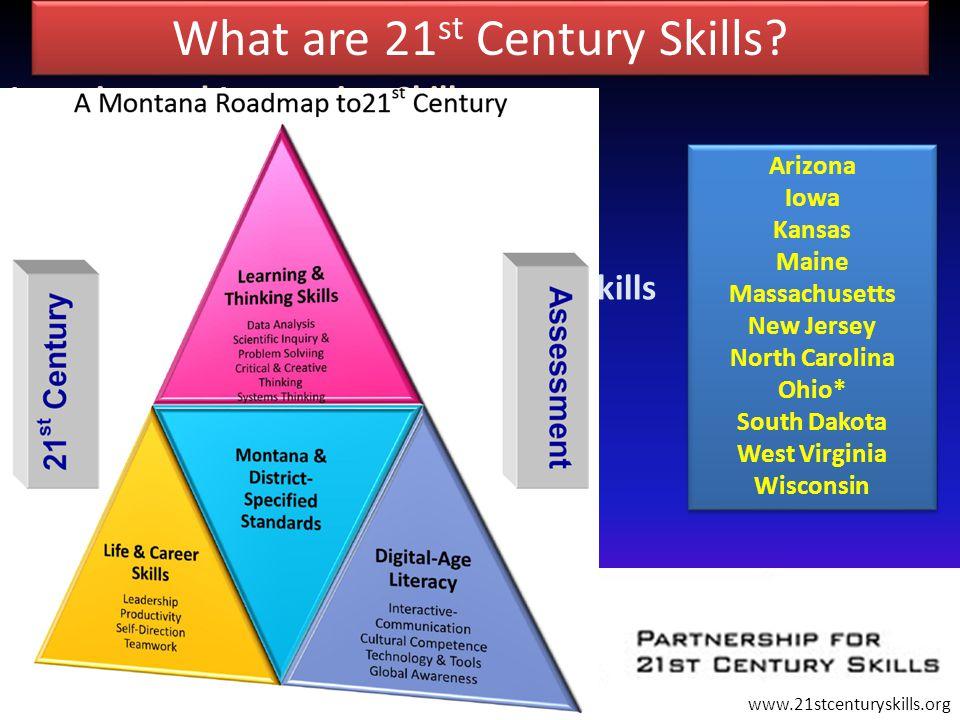 What are 21 st Century Skills.