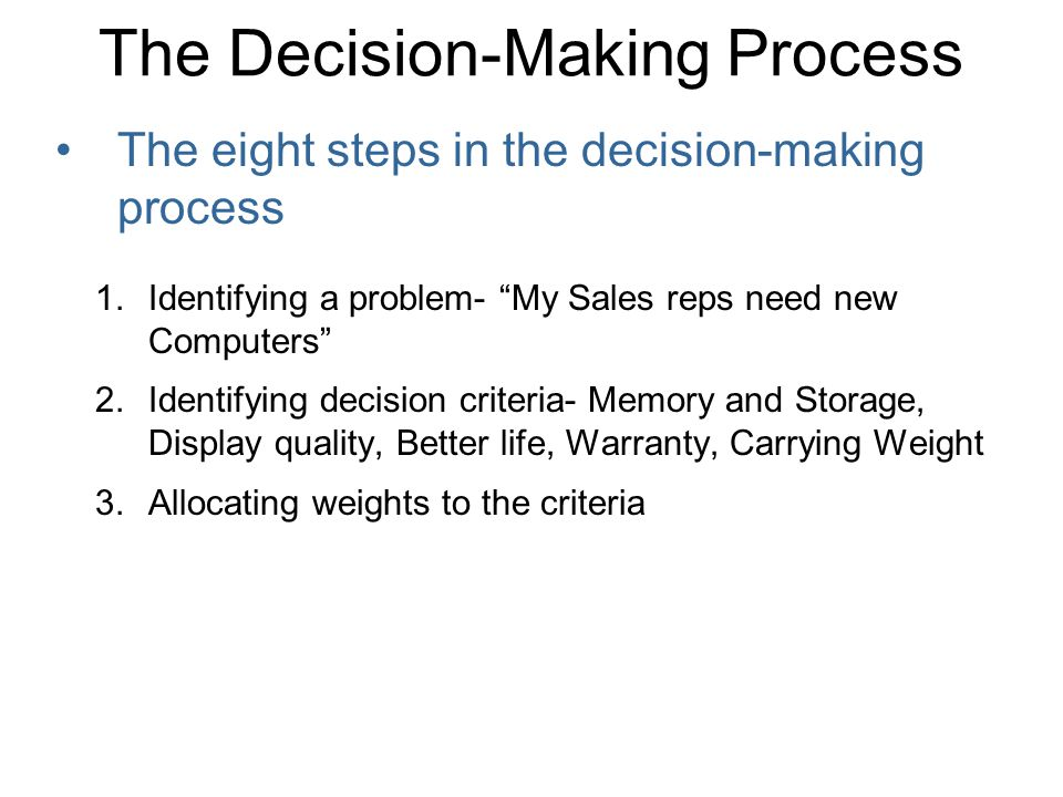 Types of Decision Making Programmed Decisions: routine, almost automatic process.