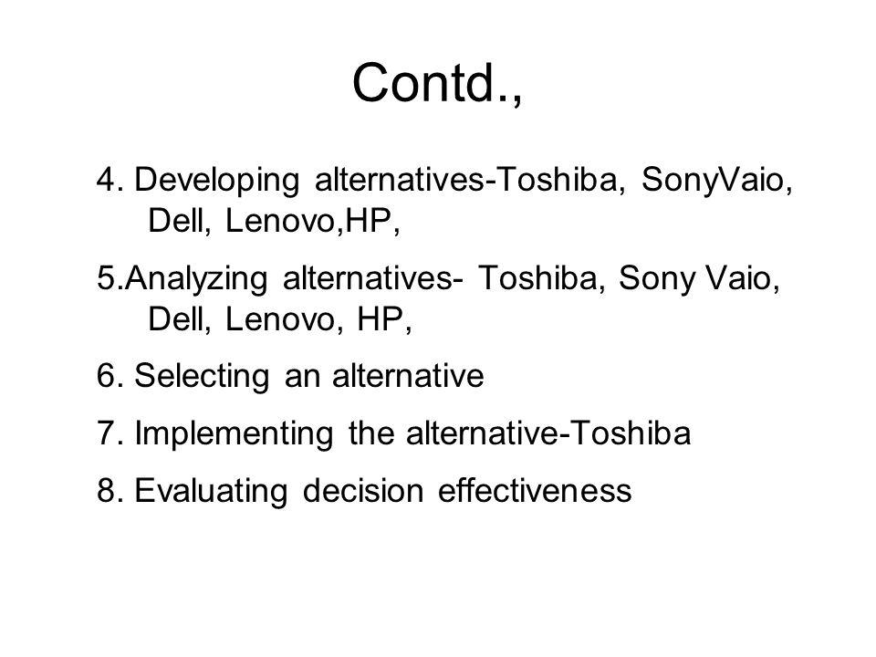 A Genera l Decision Making Model