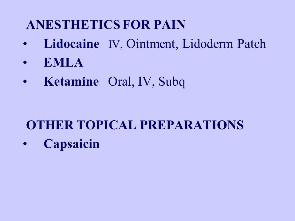 ANTICONVULSANTS gabapentin (Neurontin) pregabalin (Lyrica) clonazepam (Klonopin)