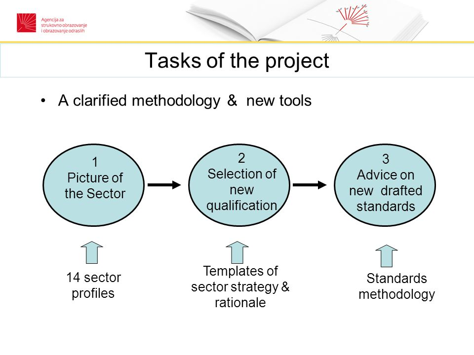 """Tasks of the project Task 3: Stimulate ideas & proposals for improvement study visits to Scotland and (additional) to France on other models of SCs training sessions on Qualification Management two x 2days workshops: """"SWOT analysis of the SCs & proposals Report on """"Role and responsibilities of the SCs"""