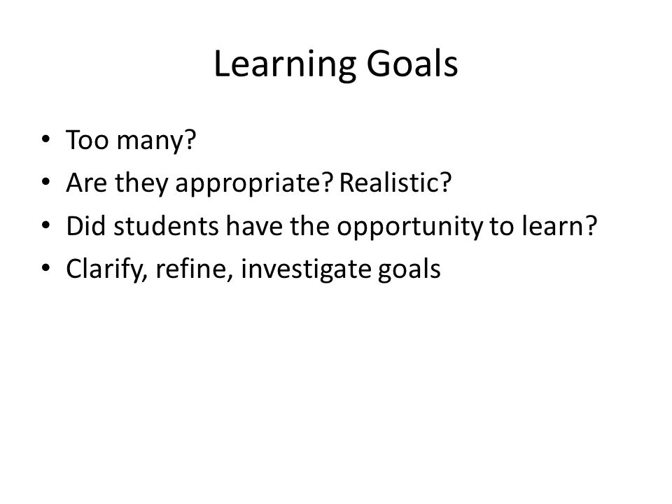 Curriculum Does the course/program give sufficient attention or opportunities for learning.
