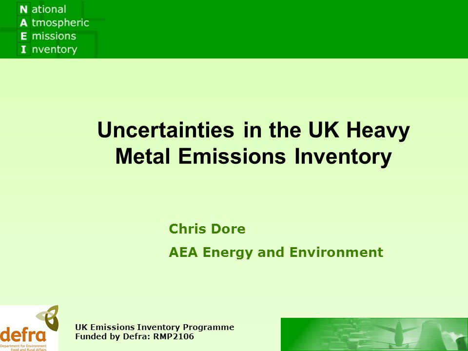 Contents 1.Principles of Uncertainty 2. Combustion Sources 3.