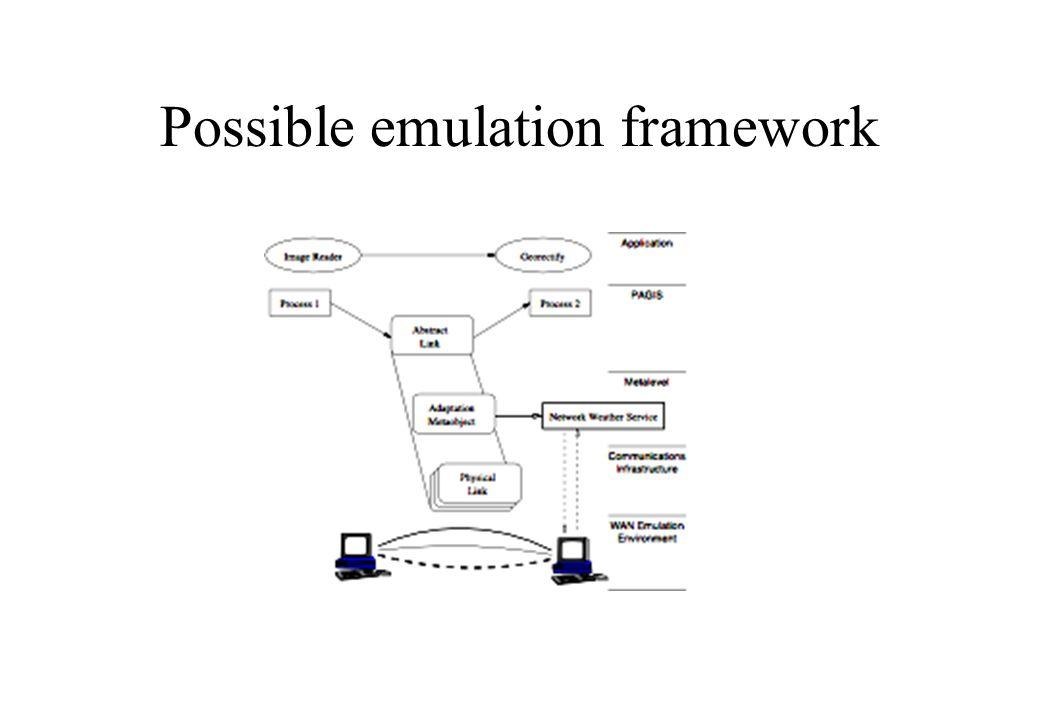 Possible emulation framework