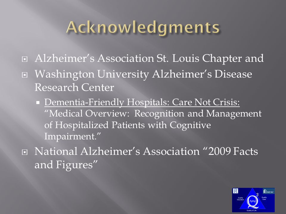  Alzheimer's Association St.