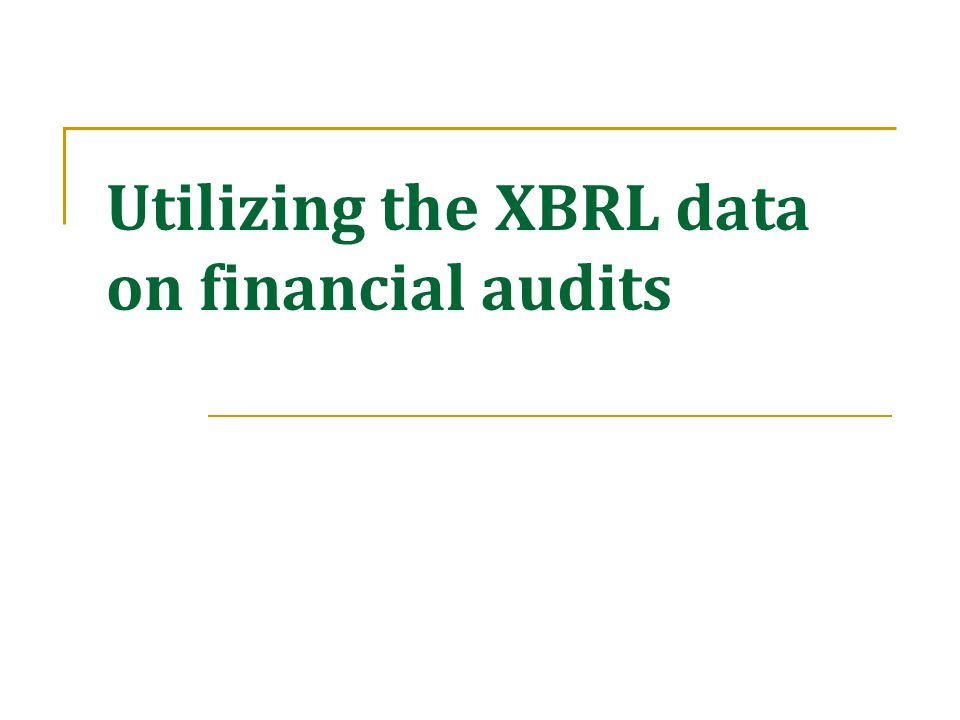 Possible areas of usage by auditors Non Industry  Automatically updating analysis with each draft financials or when a number changes  Uses during quarterly work or Reporting/Conclusion,  Uses throughout each phase of the audit Industry  Identify sig.