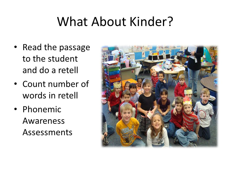 What About Kinder.