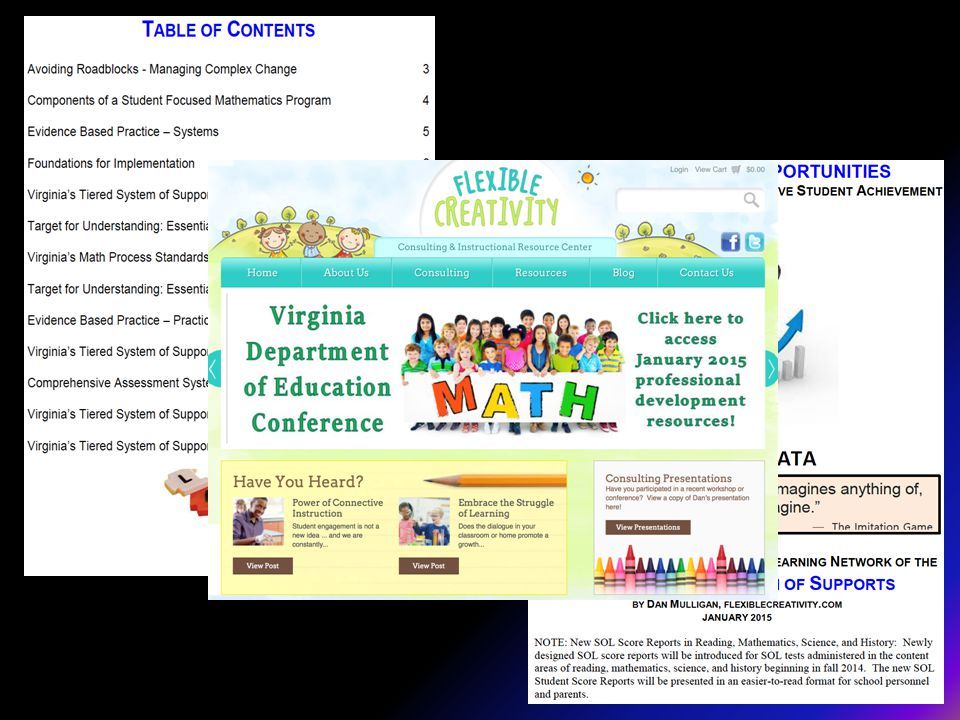 Resources to share…