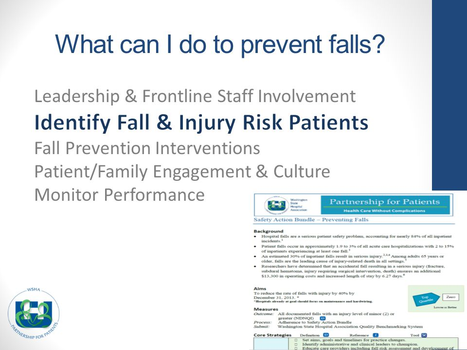 What can I do to prevent falls?