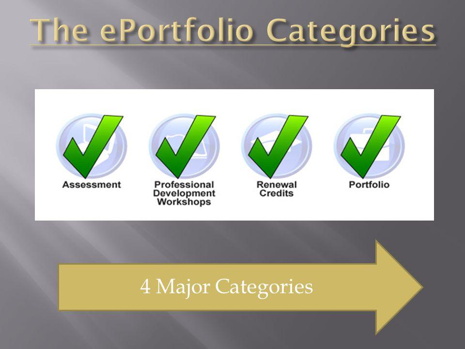 4 Major Categories