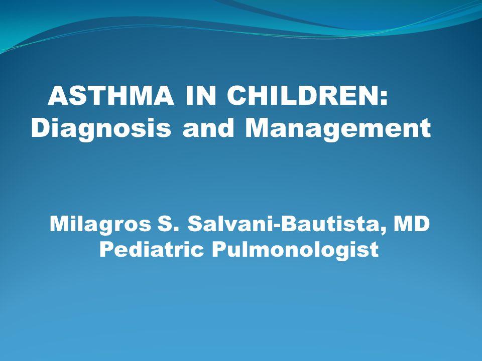 Severity of Asthma Exacerbations…..