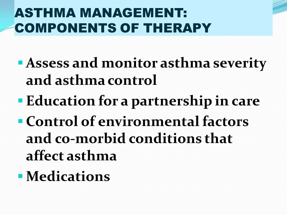 RELIEVER MEDICATIONS ANTICHOLINERGICS Inhaled anticholinergics are not recommended for long term management of asthma inchildren