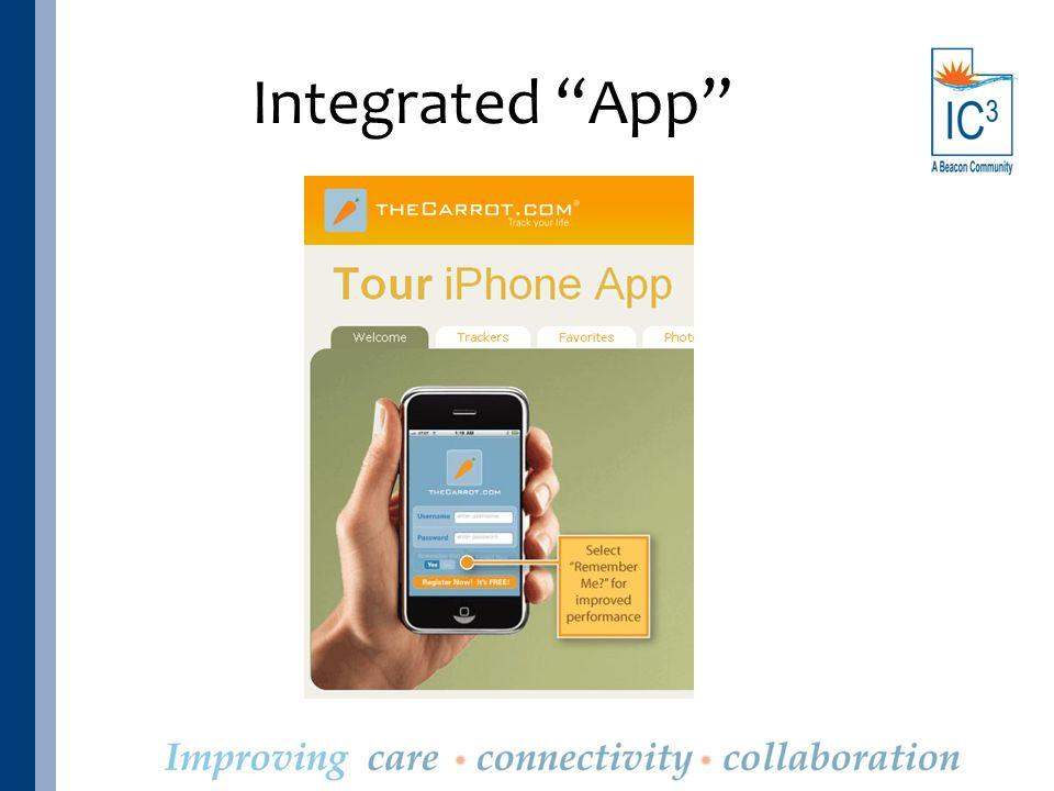 "Integrated ""App"""