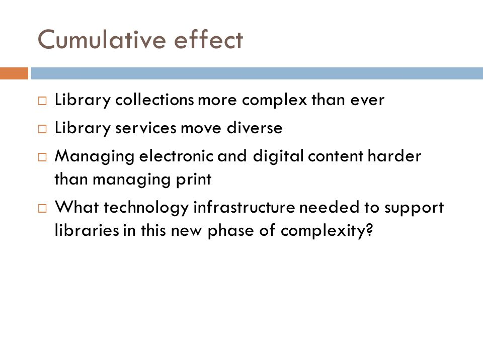 Library Services Platform  Library-specific software.