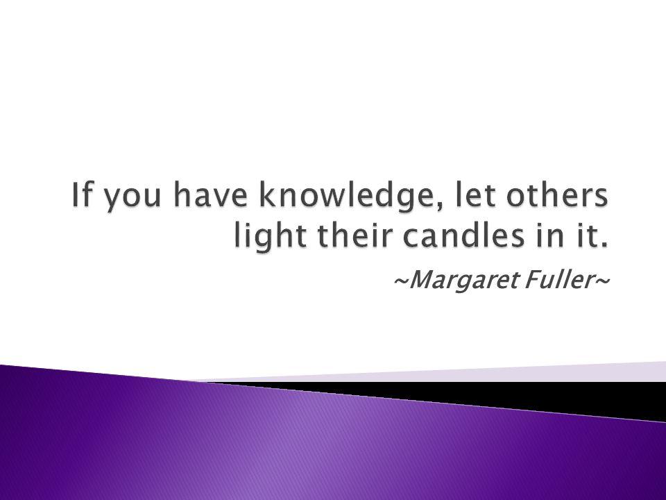 ~Margaret Fuller~