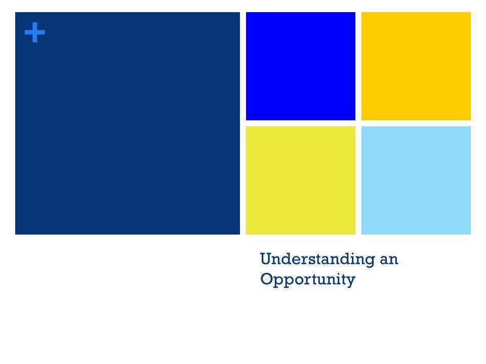 + Understanding an Opportunity 16