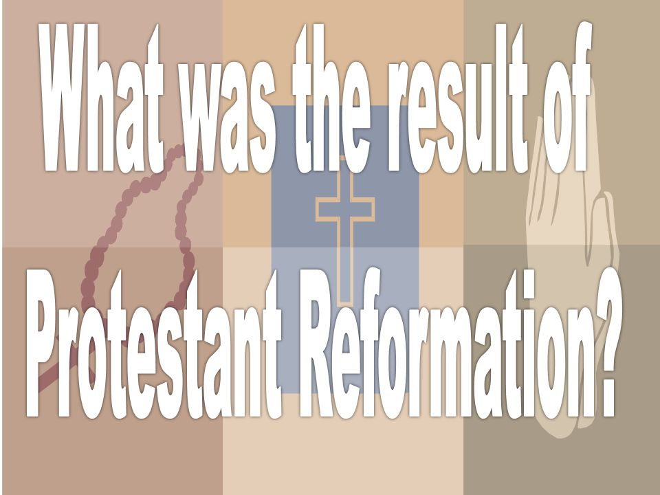  People like Martin Luther wanted to get rid of the corruption and restore the people's faith in the church.  In the end the reformers, like Luther,