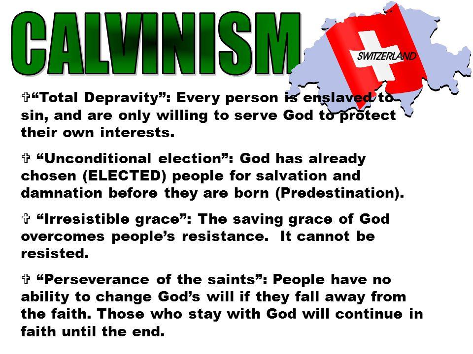  Calvin set up his idea of a model Christian community in Geneva ('Protestant Rome')  Theocracy: The church runs the gov't  Calvinists had to follo
