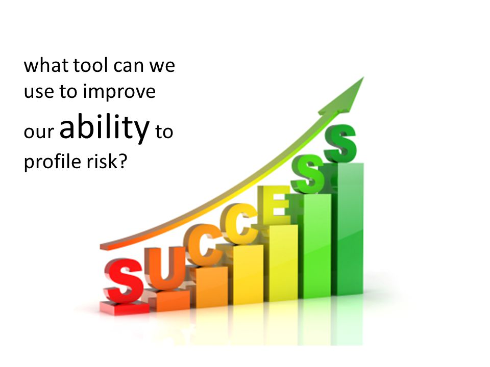 what tool can we use to improve our ability to profile risk?