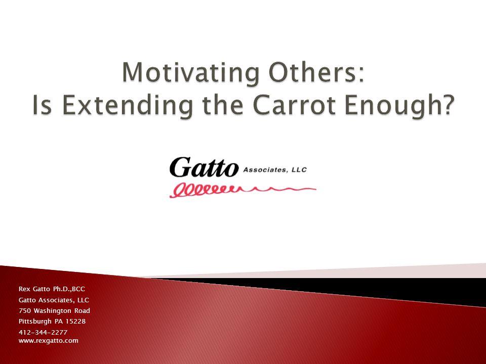 Rex Gatto Ph.D.,BCC Gatto Associates, LLC 750 Washington Road Pittsburgh PA 15228 412-344-2277 www.rexgatto.com