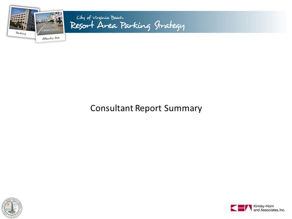 Consultant Report Summary