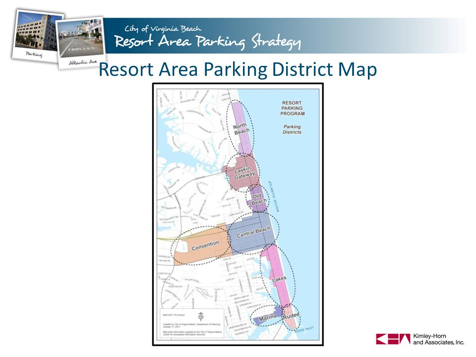 Resort Area Parking District Map
