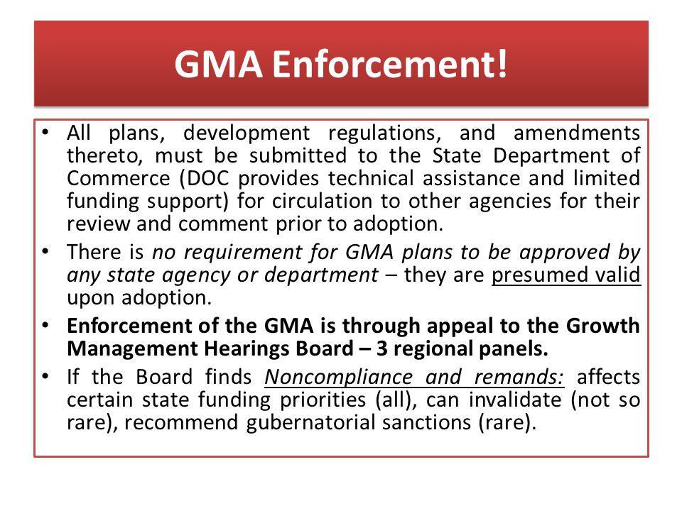 GMA Enforcement.
