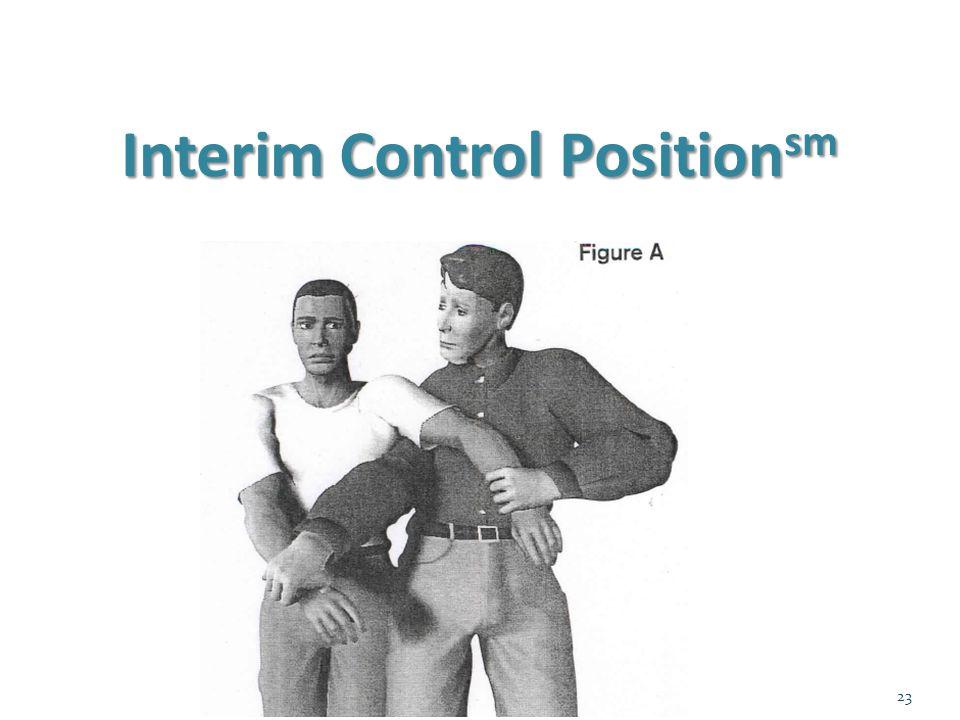 Interim Control Position sm 23