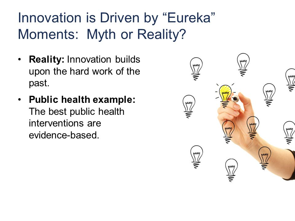 Innovation is Driven by Eureka Moments: Myth or Reality.