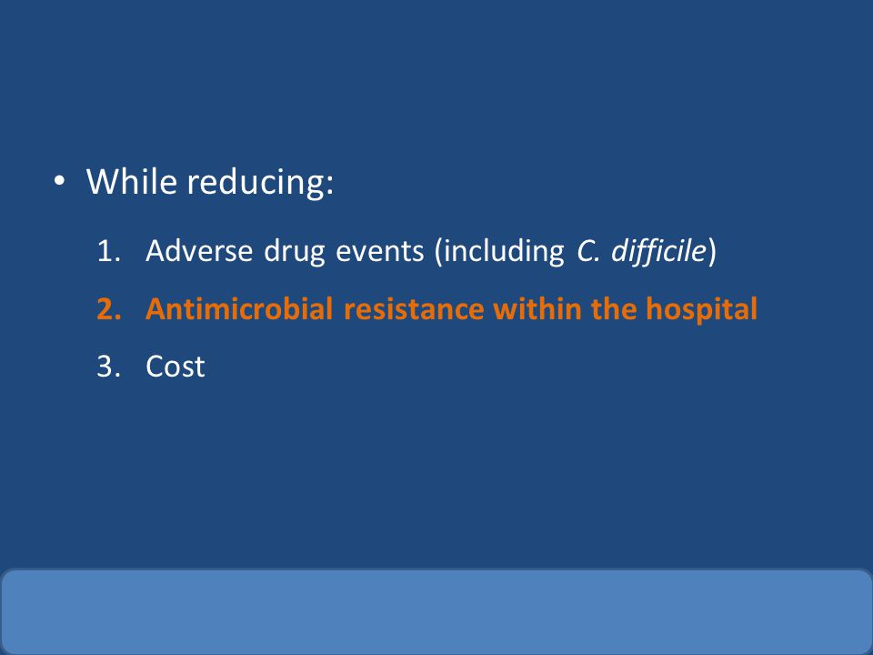Asymptomatic bacteriuria Other randomized trials have shown treating causes more resistance and paradoxically more UTIs – Clin Infect Dis.